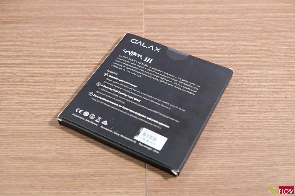 GALAX GAMER III DRR4 RGB
