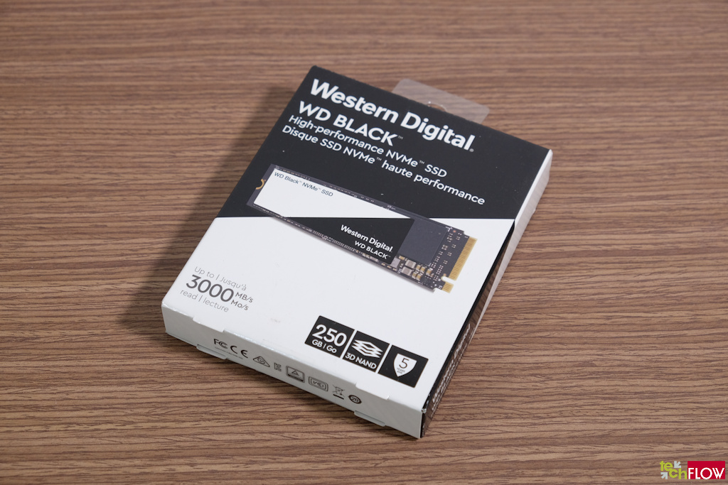 Western Digital Black NVMe M.2 SSD 2018