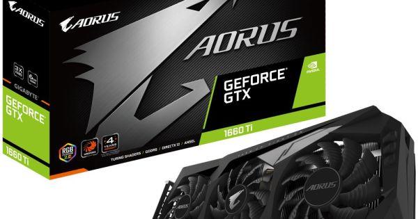GIGABYTE AORUS GeForce GTX 1660Ti 6G
