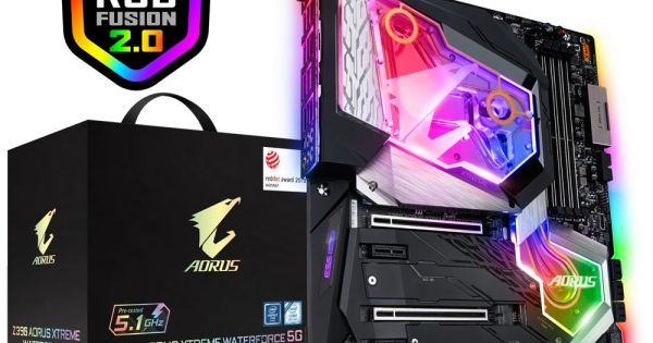 Combo Z390 AORUS XTREME WATERFORCE 5G + Intel® Core™ i9-9900K