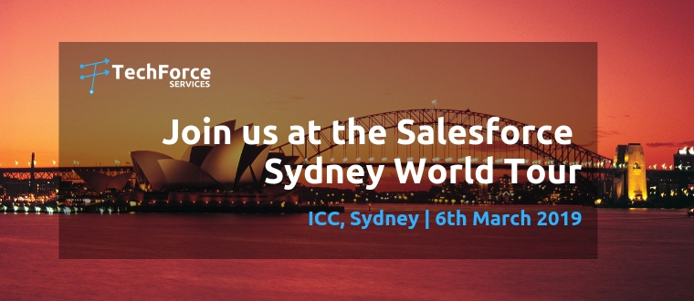Salesforce World Tour - Techforce Services - Silver Sponsor