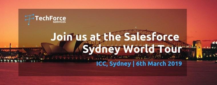 Salesforce World Tour - Techforce Services - Silver Sponsor