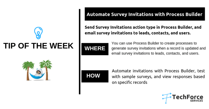 Salesforce weekly tips Automate Survey