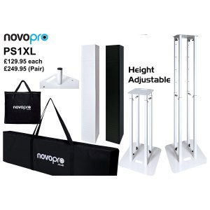 Novopro PS1XL height adjustable podium/plinth stand
