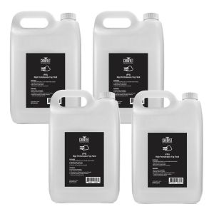 CHAUVET HIGH PERFORMANCE FOG FLUID 5L - BOX OF 4