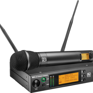 Electro-Voice RE3-ND76 UHF wireless set featuring ND76 dynamic cardioid microphone