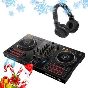 Pioneer DDJ-400 DJ Controller with HDJ-CUE1 Headphones