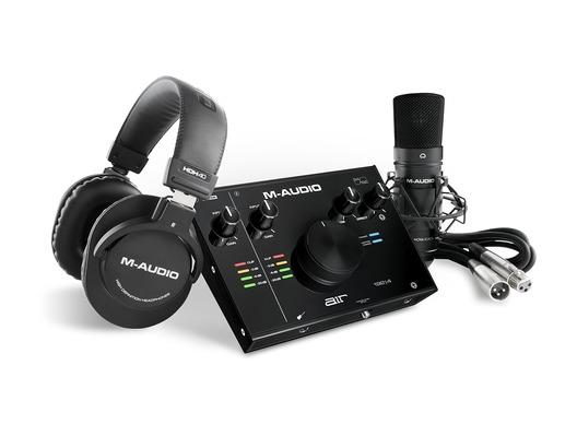 M-Audio Air 192   4 Vocal Studio Pro Recording Pack With Mic & Headphones