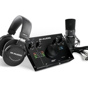 M-Audio Air 192 | 4 Vocal Studio Pro Recording Pack With Mic & Headphones