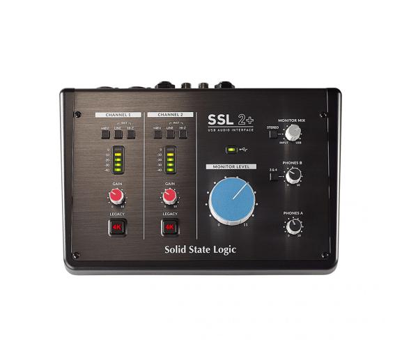 SSL 2+ USB Audio Interface