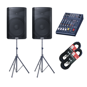 Alto TX215 600 Watt Active Speaker Package