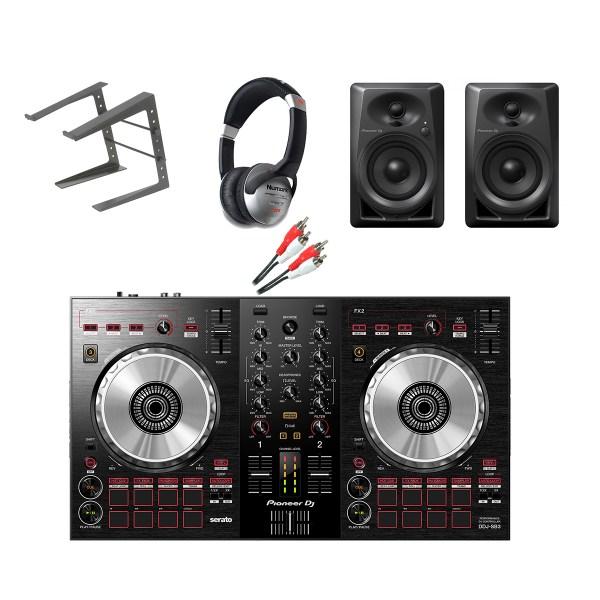Pioneer DDJ-SB3 Complete Starter DJ Equipment Package