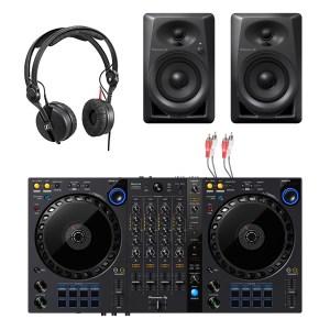 Pioneer DDJ-FLX6 DJ Controller & Pioneer DM-40 Package