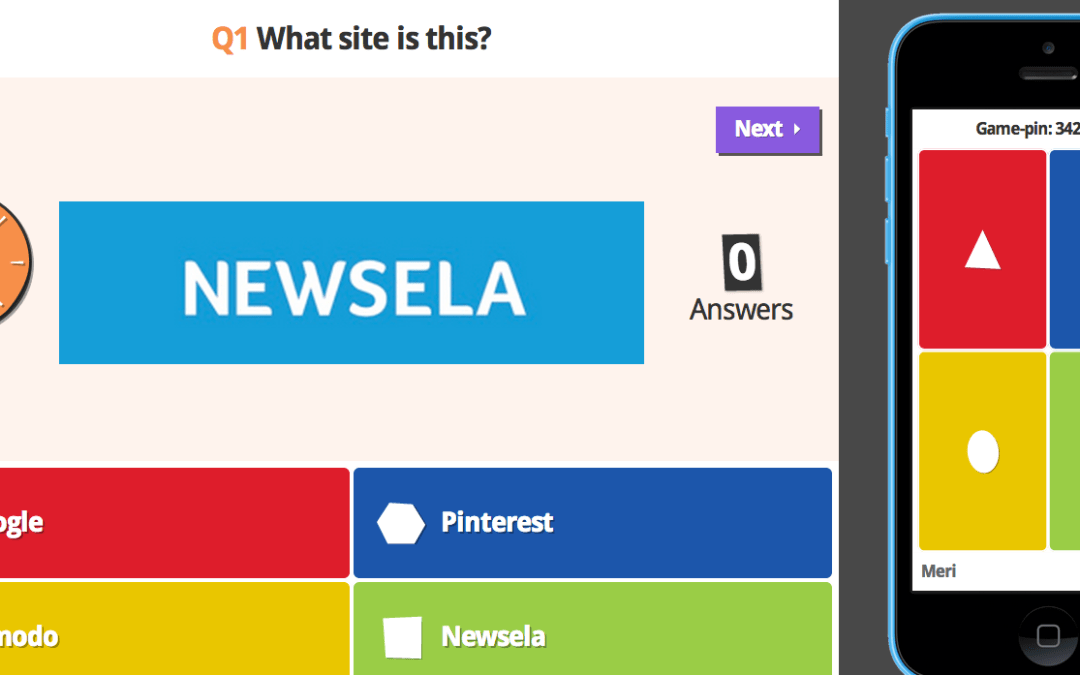 Kahoot! An Easy To Use, Multi-Device Quiz Platform