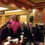 #CoffeeEduNJ with Kathy, Sandy, and Chris