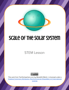 STEM - Solar System