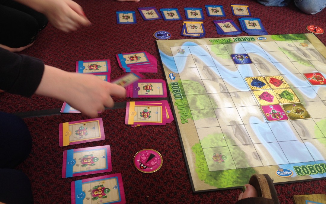 Playing Robot Turtles In Grades K & 1- A Programming Boardgame