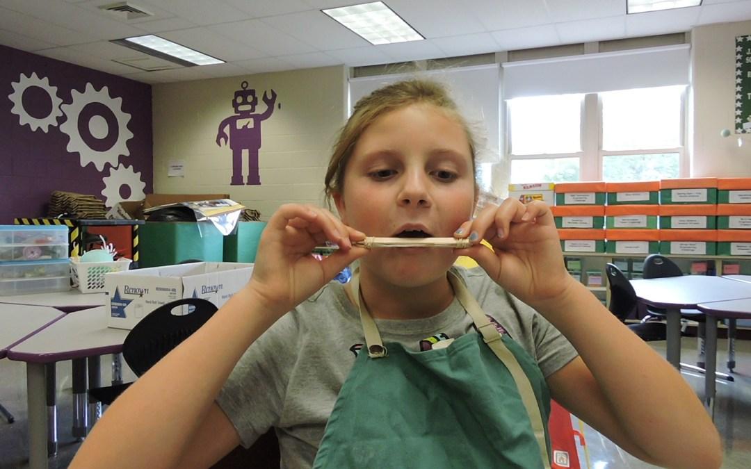Dollar Store STEM – Popsicle Stick Harmonica