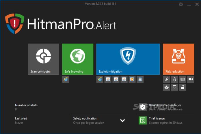 Hitman pro Alert fre