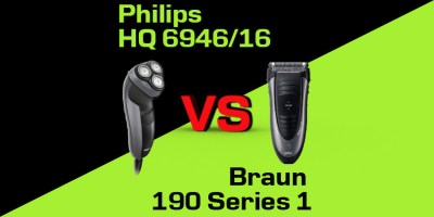 Philips HQ 6946/16 czy Braun 190 Series 1