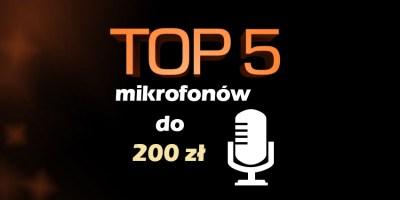 mikrofon do 200 zł