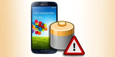 Bateria do Samsung Galaxy S4.