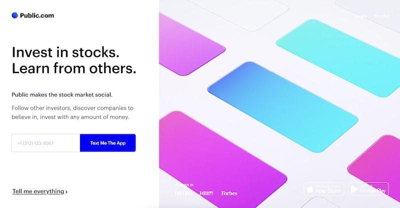 Public.com investment app