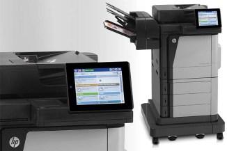 HP M680 e M651, autenticazione e stampa NFC per le PMI