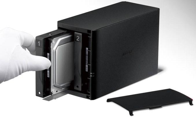 Buffalo LinkStation 220, storage di rete, backup e personal cloud