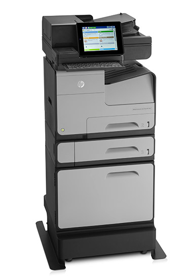 HP Officejet Enterprise Color MFP X585dn, la getto d'inchiostro professionale