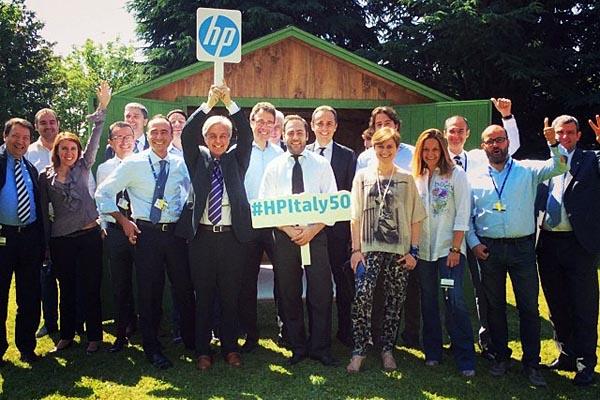 HP Italia festeggia cinquant'anni di attività