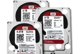 WD Red e Red Pro, fino a 6 TByte per lo storage di rete