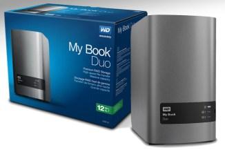 WD My Book Duo, 12 TByte di storage locale
