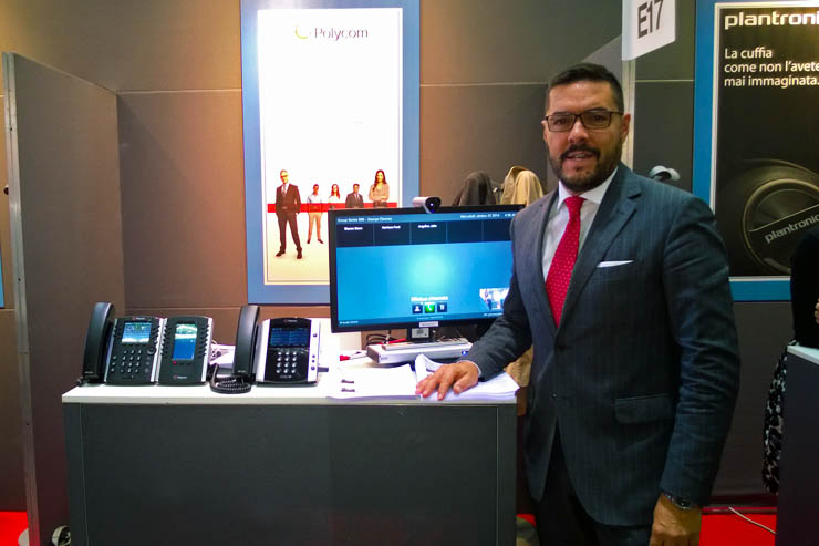 SMAU 2014, intervista a Claudio Mignone, Country Manager di Polycom Italia