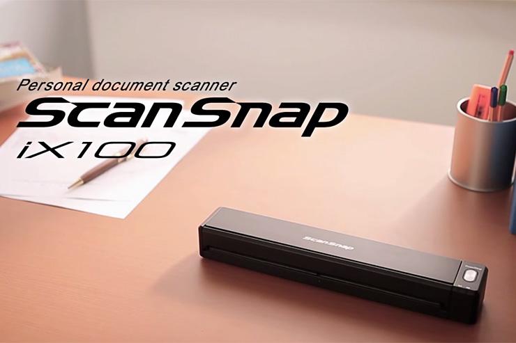 Fujitsu ScanSnap iX100, qualità e prestazioni in mobilità