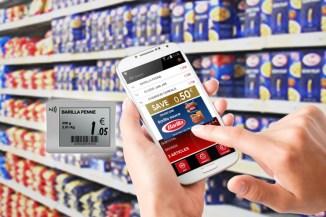 Le nuove etichette di SES nel negozio Intermarchè
