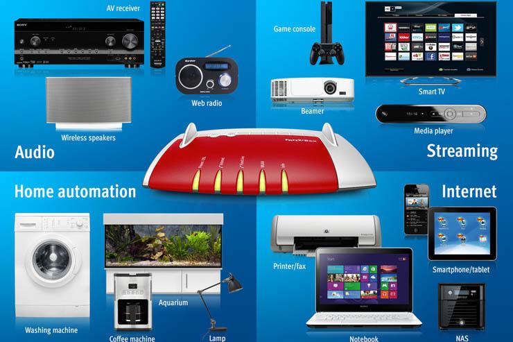 AVM, domotica, smart home e connettività
