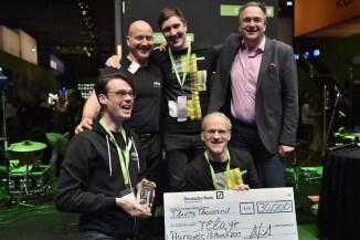 I vincitori di CODE_n 2015 premiati al CEBIT