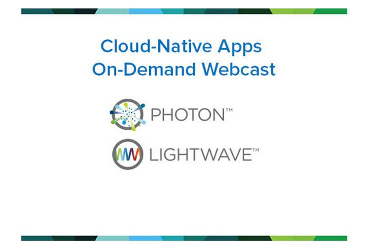 VMware Lightwave e Photon, per applicazioni cloud-native