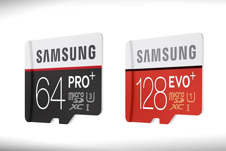 Le nuove memory card PRO Plus e EVO Plus di Samsung Electronics