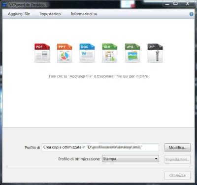 A confronte le immagini contenute in un file PDF, a sinistra la versione ottimizzata con NXPowerLite for Desktop [clicca per ingrandire]