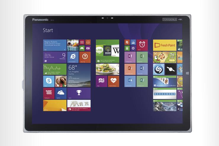 "Panasonic Toughpad FZ-Y1, tablet da 20"" con display UHD"
