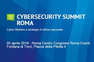 Trend Micro è sponsor del Cybersecurity Summit Roma 2016