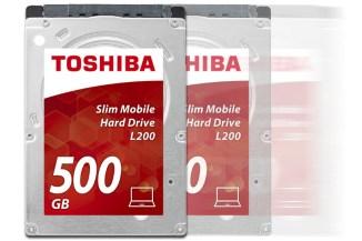 Toshiba L200, in arrivo la nuova unità slim da 500 GByte