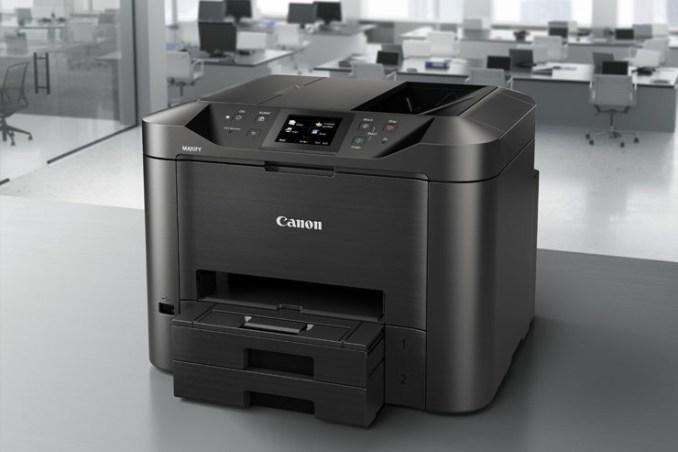 Canon Maxify, inkjet efficienti e veloci per ambienti Soho