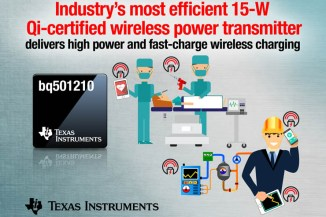 Texas Instruments bq501210, trasmettitore wireless per l'industria