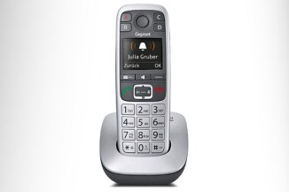 Gigaset E560, il cordless ergonomico di alta qualità