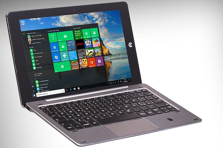 Microtech e-tab Pro, il tablet che supporta tre sistemi operativi