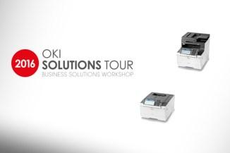 OKI Solutions Tour 2016, l'integrazione degli MFP e la stampa gestionale