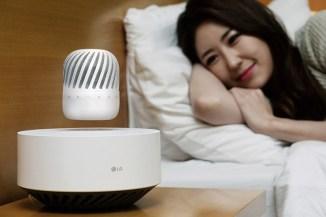 LG Levitating Portable Speaker, la magia della musica al CES